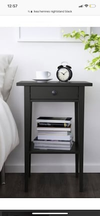 Ikea Hemnes bed side stand/table