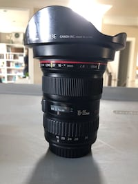 Canon 16-35 L i lense. Used, working condition. Clean glass   Leesburg, 20176