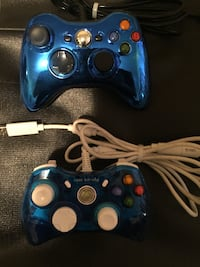 2 third party xbox360 controllers  Burnaby