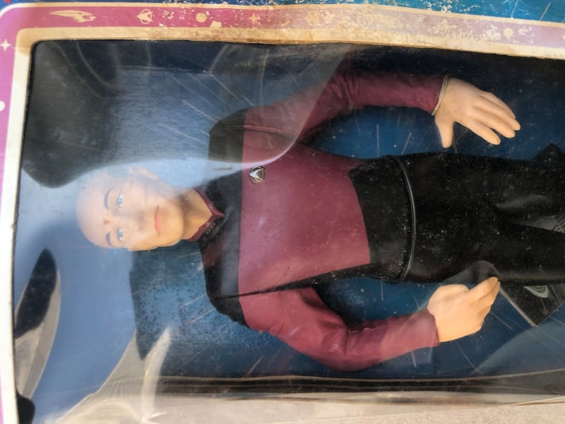 "Vintage Star Trek 9"" Collection addition figuring f2376ad0-0df5-4f54-a361-426ea69b892a"