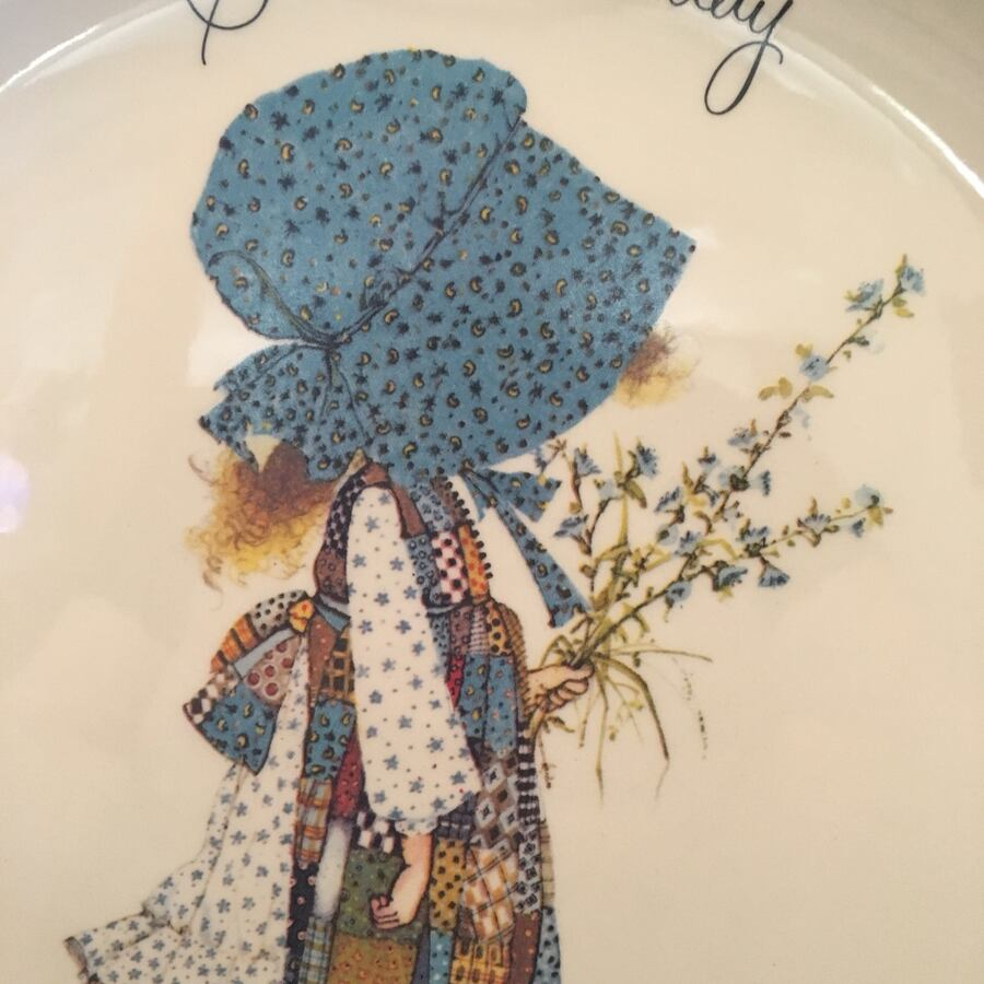 Collectors Plate-Holly Hobbie