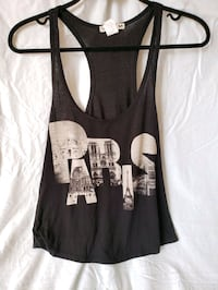 Soft black Paris swing tank Toronto, M5G 1V7