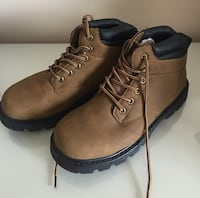 Snow boots fashion trend casual ski boots men, boots caramel.