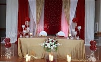 Backdrop set up/ head table set up...event decor  Brampton, L7A 2A9