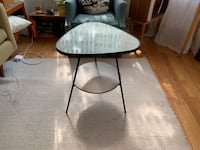 Retro style glass table Chicago, 60647