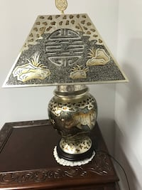 Black and brown table lamp Germantown, 20874