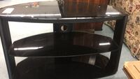 ENTERTAINMENT STAND made of black tinted glass in very good condition Boise, 83709
