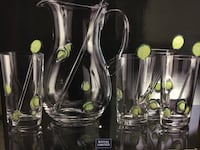 Glass serving set Perry Hall, 21128