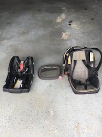 black and red car seat carrier Washington, 20024