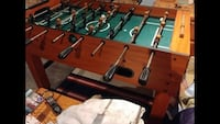 brown and green foosball table Grimsby, L3M 4R6