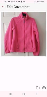 Columbia House for Women Pink Flannel Jacket Size L Hyattsville, 20785