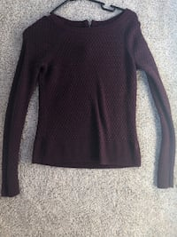 Maroon Sweater  Chicago, 60605