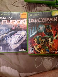 Rally fusion and legacy of Kain Xbox both for $30 Brantford, N3R