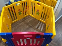 toddler's yellow and red plastic play fence Crofton, 21114
