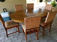 Dining room table with 6 chairs  Orlando, 32826