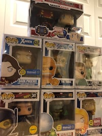 Funko Pop Comics set