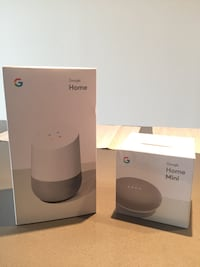 Google Home and Google Home Mini 21 mi