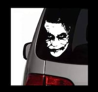 Joker Sticker Batman Etiket Joker Folyo Kesim Vw Caddy Cam Yazısı Çukurova, 01170