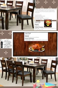 Table & 8 chairs New  Fresno, 93726