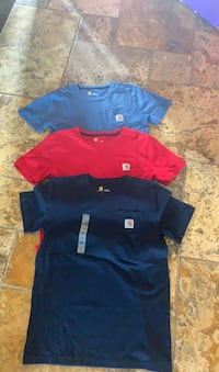 3 new Carhartt youth large t-shirts Spring, 77389