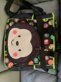 (NEW)Monkey baby diaper bag. Chaparral, 88081