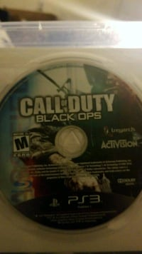 Call of Duty Black Ops PS3 game disc Wappingers Falls, 12590