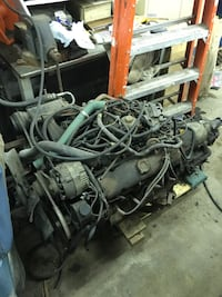 Pontiac V8 engine with turbo 340 transmission Jersey City, 07307