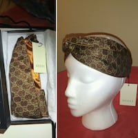 Jacquard silk Gucci Twisted headband Orlando, 32811