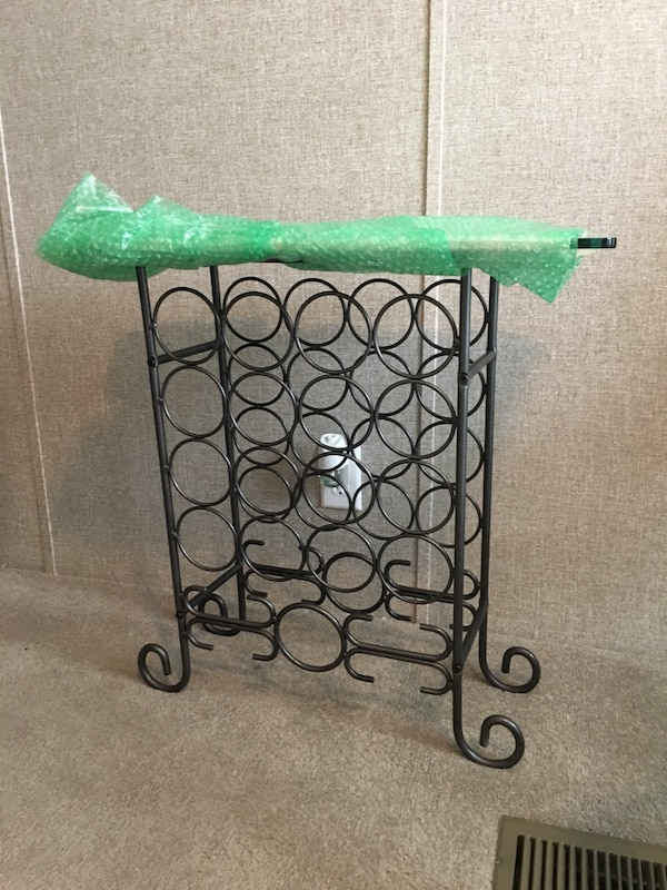 Used Glass Top Wine Rack For Sale In Pflugerville Letgo