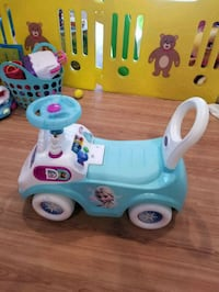 toddler's white and blue ride on toy car Ellicott City, 21043