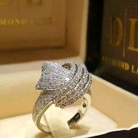 silver plated ring  Surrey, V3X 1P3