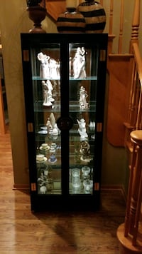 Family treasures display cabinet.