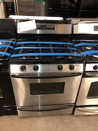 Jenn-air stainless steel gas stove