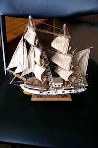 9x91/2 Cabin Sloop Ship Chillum, 20782