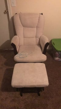 Rocking Chair and Foot Rest Crownsville