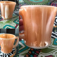 """Peach Lustre"" collection vintage mug Laval, H7W"