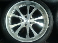 ***Maya 3 piece wheels with Nitto tires***