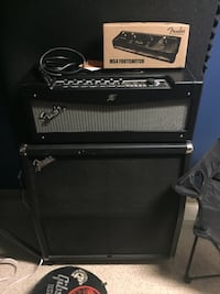 Fender Mustang Head and Fender 4x12 cab  Vancouver, V6B 1A8