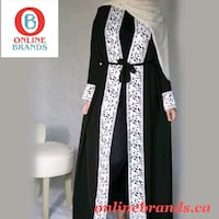Abaya for Womens with Lace Mississauga, L5M 5B7