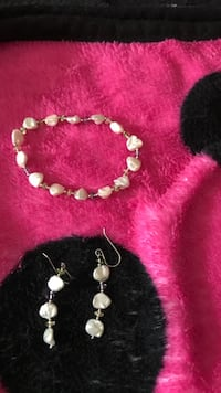 Mother's Day special Culture pearl bracelet & earring set Killeen, 76542