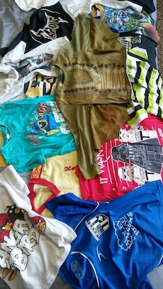 23 Male toddlers shirts