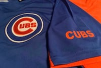 Large Chicago Cubs Bullseye Blue Jersey