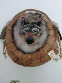 Native American Wolf Wall Decor