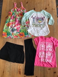 Lot of girls clothes size 7-8 Montreal, H2R 1Z6