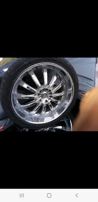 24' rims and Tires