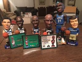 Assortment of Minnesota Bobbleheads