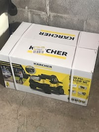 Never Used Karcher 1800psi pressure washer Regina, S4N 3J2