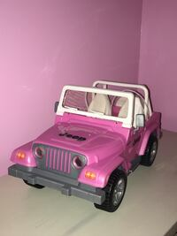 Barbie doll Jeep Wrangler pink Car Vehicle Fall River, 02720