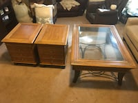 Coffee table and 2 end table set Albany, 12210
