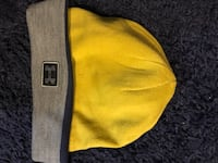 yellow and gray Under Armour beanie Barnhart, 63012